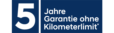 5 Jahre Garantie Logo