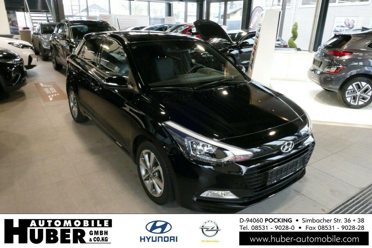 Hyundai i20 1.0 Passion Plus 120 PS 6 Gang Klima Navi