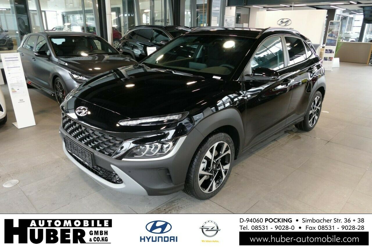 Hyundai KONA Facelift Volldigitaltacho, Sitzheizung