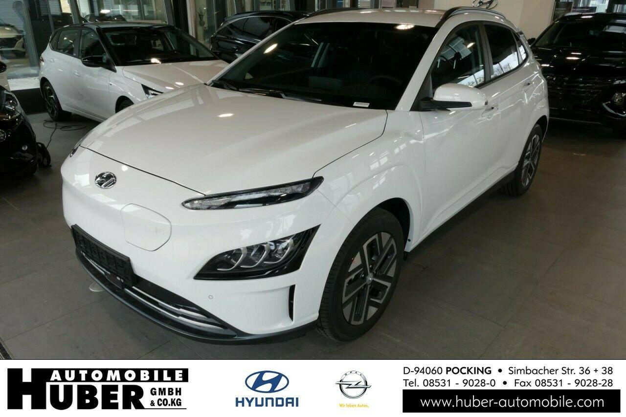 Hyundai Kona Elektro Trend Atlas White 11kw Lader Navi